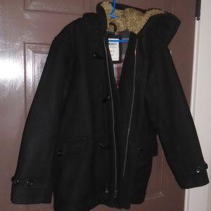 Final Markdown- Boys Wool Blend Toggle Coat M